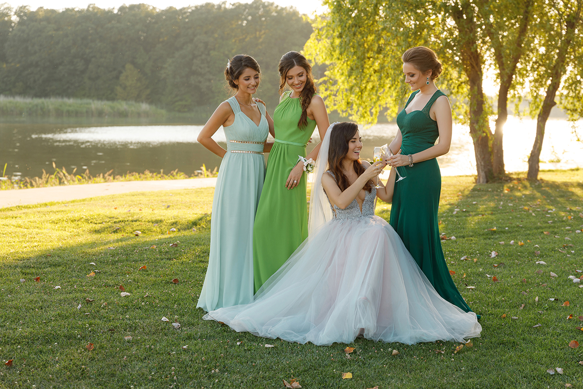 Bridesmaids larisa costea i was wearing ombrellifo Image collections