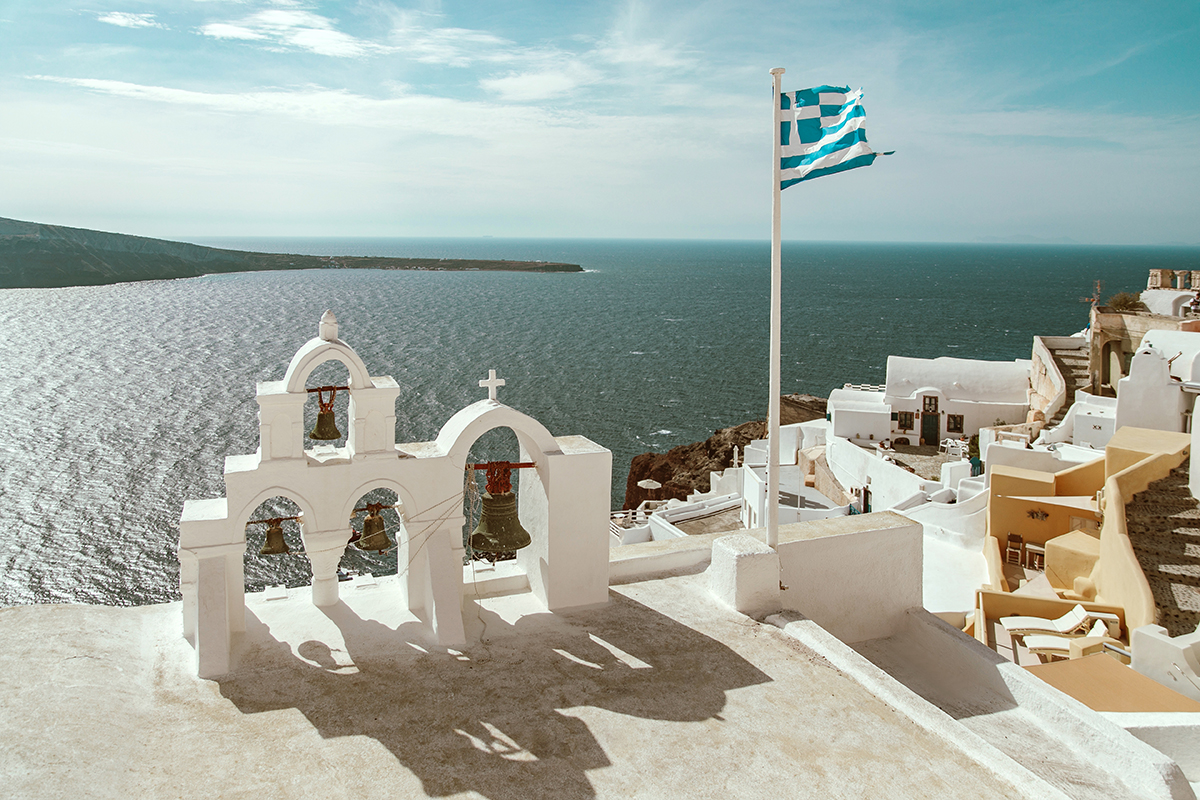 larisa costea,larisa costea blog, larisa costea style, larisa style, larisa in satorini, larisa in greece,oia,ia, santorini, greece,kikladed, cycladic islands, cycladic architecture, all white, white buildings, sea, ionic sea,mediteranean,fall outfit, autumn outfit, tartan,mixed prints, all tartan, tartan shirt, tartan skirt, teal green shirt, yellow and black skirt,missguided, besta look, besta, share your look platform, shop my look, balenciaga boots,jessica buurman boots,sock booties, lycra booties, booties, boots, black boots, ray ban sunglasses, vintage chanel, chanel bag, shopbop, what goes around nyc, what goes around comes around, greek church, bells, church bells,bell, cool look, streets style, daily outfit, what to wea,outfit inspiration, larisa costea fall outfits, agia ekaterini church, oia church, spectacular santorini pics, satorini view, caldera view, caldera, bigg hoop earrings, gold hoops