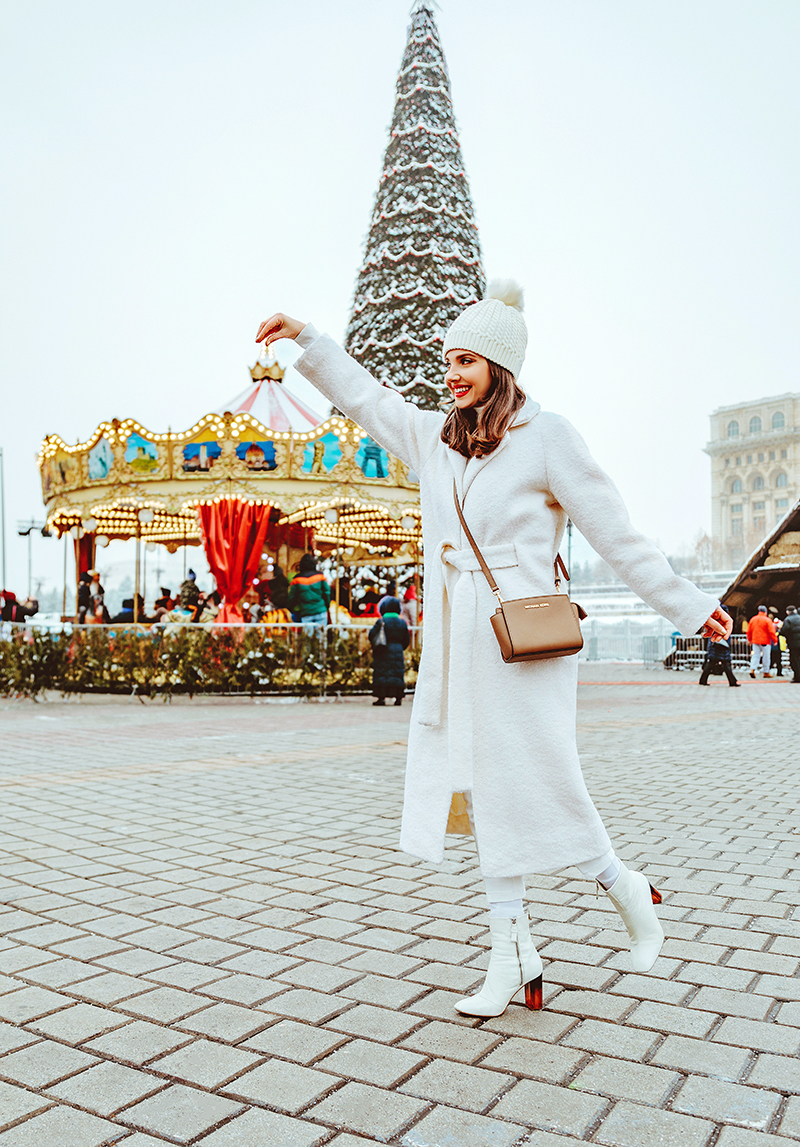 third day od christmas, sales, shopbop, designeritems, december sales, december, christmas, bucharest christmasmarket,alina catrinoiu, catrinel,best friends, bff, photo session, adrian sunrise inc, adrian,couple goals,power couple, couple pictures,2018, bucharest christmas market, targul de craciun, bucuresti, carousel, carusel,patinoar, ince sating,bucharest, what to do in bucharest in december,white fluggy hat, beannies,fur pom pom,shein, asos,ganni,michael kors bag, ganni white coat,couple matching, orsay ehitepants, zara white turtleneck, all whiet outfit for winter, winter wonderland,winter outfot,winter ootd,december outfit, all white, total white look, red lipstick, sparkling eyemakeup, glitter eye make up, larisa costea, beauty, fashion, sales, 75% off, discount codes,tartan scarf, christmas tree,larisa style, larisa christmas, chiristmas photo shooting, larisacostea blog, fashion blog, fashion blogger, holidays, jolly, magic, snow