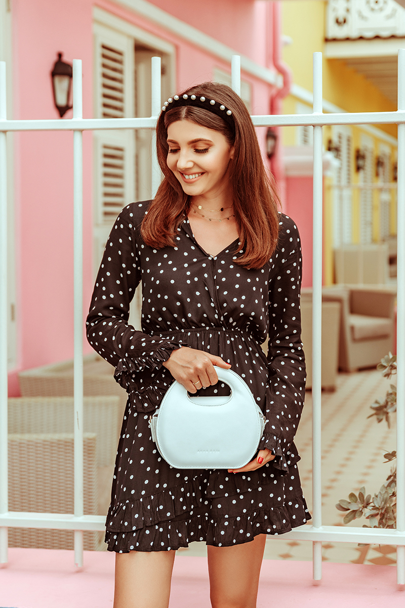 larisacostea,larisacosteablog,larisa costea blog, fashionblog, travelblog, traveler, fashionista,polkadotsdress,nakdfashion, discounts,sales, pearlheadbeand, velbetheadband, headband, ana dumitru, anna cori,annacori,bag, geantapiele, anna cori, genata alba, white bag, black dress, white polka dots, scuba lodgge, scubalodge,pietermaai,party area, young,city center,willemstad,curacao, january 2019,best holiday, best vacation, best hotels,beach terrace, islandlife, apartment,best view, ocean view, caribbean,mareacaraibelor, colourfulbuildings, soludos slippers, shopbop