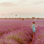 Lavender and balloons