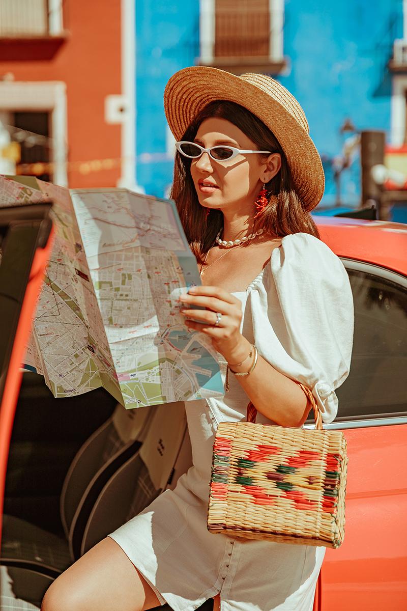 larisa costea,larisa style,larisa in spian, espagna,spain, summer in spain,travelblog,larisa costea blog, fashion blog, travel blog,traveler, traveltips, rental car, rental,masina de inchiriat, alicante, valencia, villajoyosa, ,for love and lemons, shopbop, sales, linen dress, white stress, staw hat,summer utfit, summer holiday oufit,summer outfit, outfit inspiration,ootd, white sandals, zara, white microsunnies,asos, straw hat, straw bag, handmade, goldcar, goldcar europe,castellon,goldcar rent a car