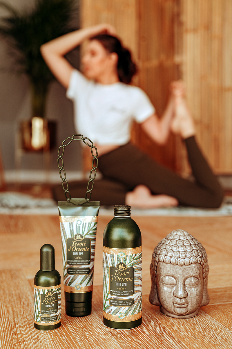 larisa costea, larisa costea blog, fashion blog, beauty blog, lifestyle, tesori doriente, tesoridorienteromania, thai spa, yoga poses, easy yoga poses, yoga exercises, workout at home, moment of relaxation, esenta starii de bine, yoga pants, concurs, giveaway