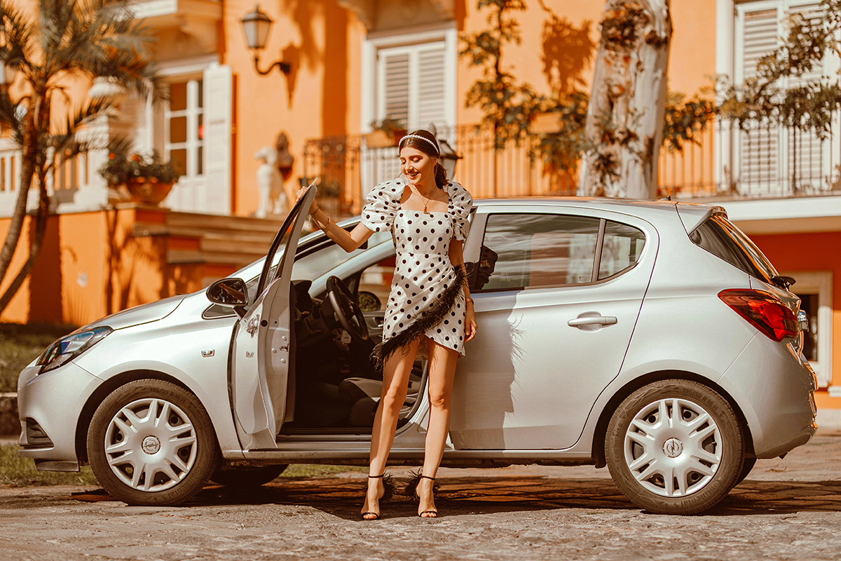 With Goldcar through Sicily
