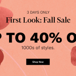 Short Fall Sales