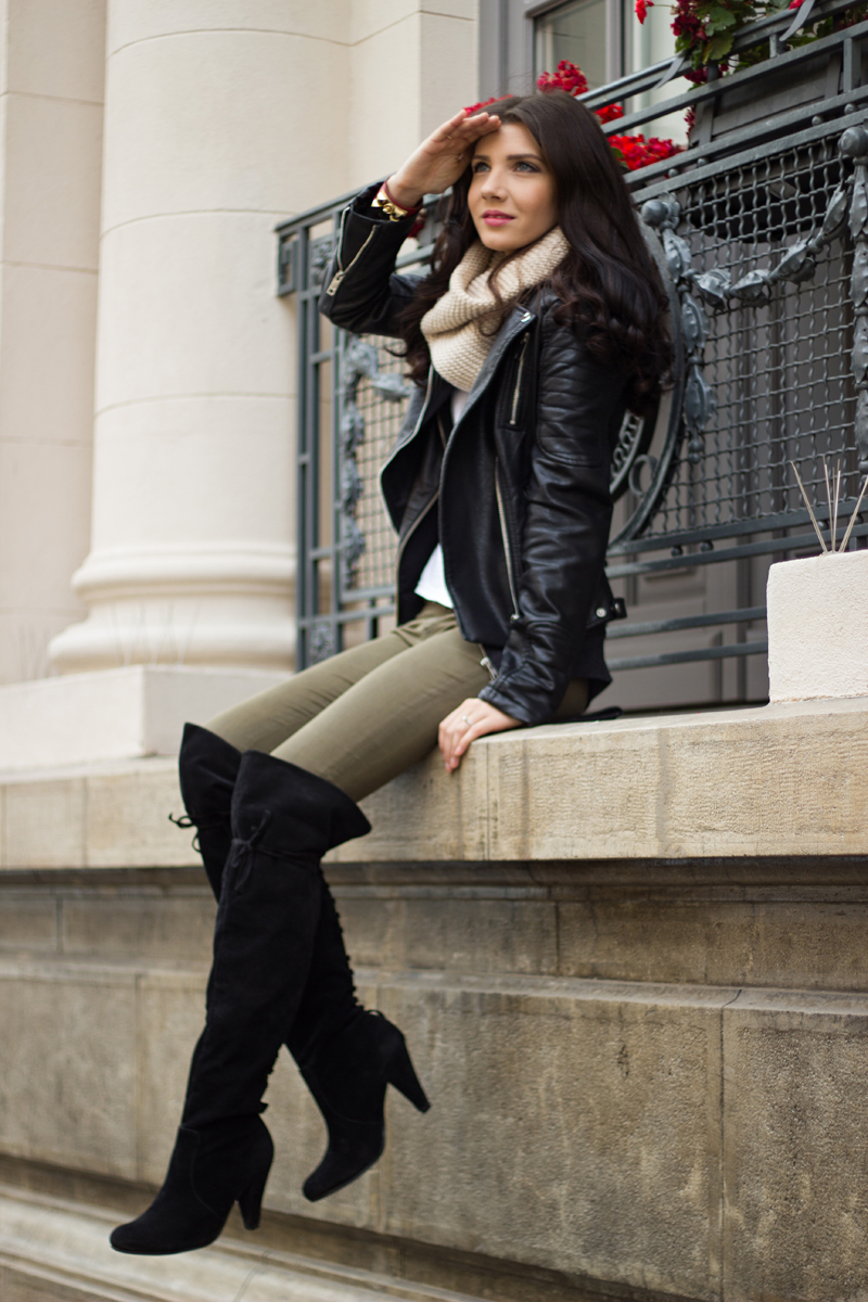 Over The Knee Boots Larisa Costea