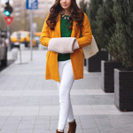 Green and mustard