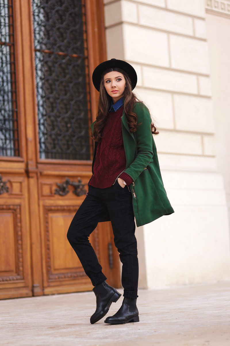 ab6d5c4ea0 Burgundy and green – Larisa Costea