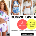 Romwe Summer Giveaway