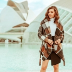 Rabato Coat in Valencia